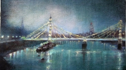Albert Bridge by Mary Swan