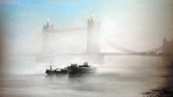Fog On The Thames by Mary Swan