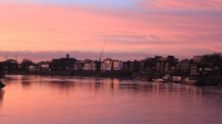 Hammersmith at sunset